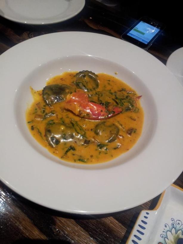 la cucina lobster ravioli