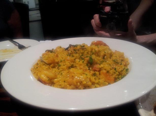 la cucina saffron risotto